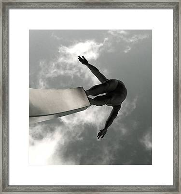 Sky Walker Framed Print by Sophia Shine