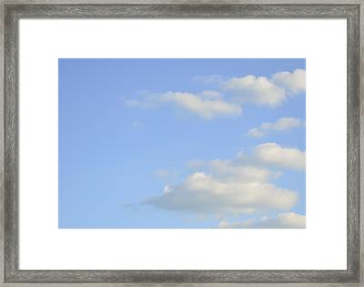 Framed Print featuring the photograph Sky by Wanda Krack