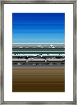 Sky Water Earth Framed Print