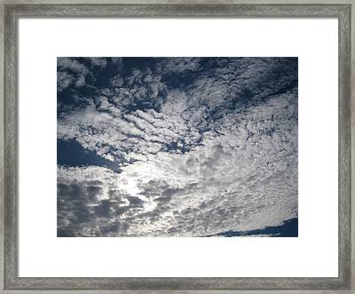 Framed Print featuring the pyrography SKY by Yury Bashkin