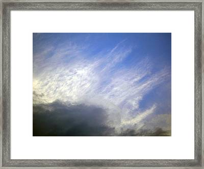 Sky6 Framed Print by Mikael Gambitt