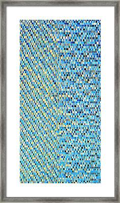 Skyblue Framed Print by Joan De Bot