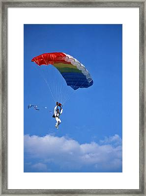 Skydiving - 1 Framed Print