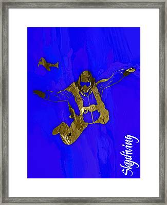 Skydiving Collection Framed Print