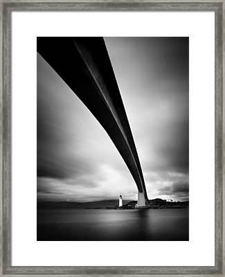 Skye Bridge Framed Print by Nina Papiorek