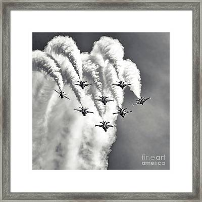 Framed Print featuring the photograph Skyfall by Ray Shiu