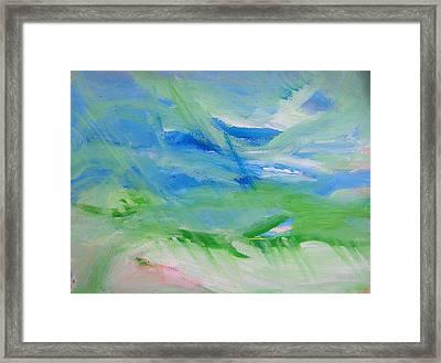 Skyland Framed Print