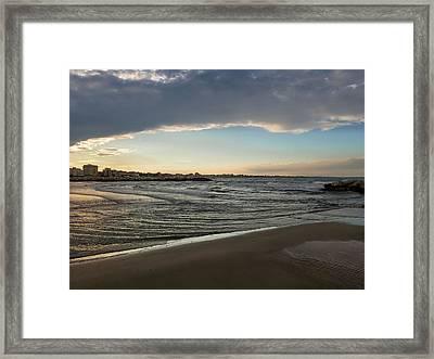 Skylight After Storm Framed Print