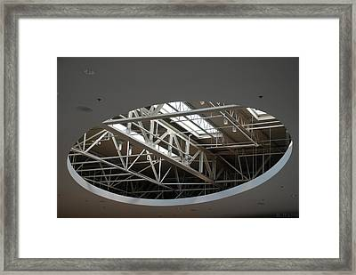 Framed Print featuring the photograph Skylight Gurders by Rob Hans