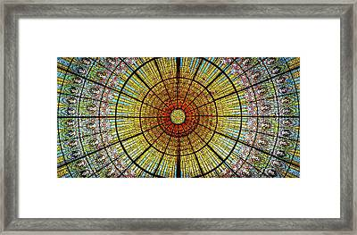 Skylight Framed Print by Michael Weber