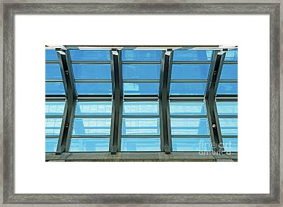 Framed Print featuring the photograph Skylight.. by Nina Stavlund