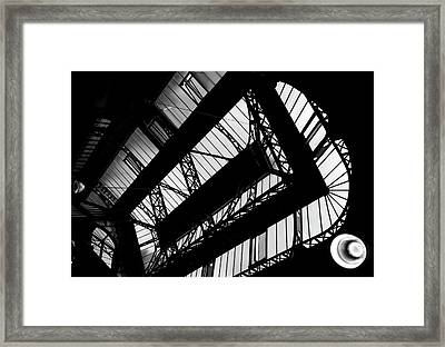 Skylights - Leeds Market  Framed Print by Philip Openshaw