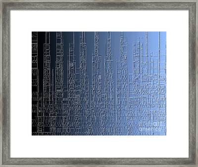 Skyline 2 Framed Print by Steve K