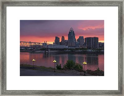 Skyline Framed Print by Brad Monahan