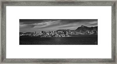 Skyline-centro-rio De Janeiro-brasil Framed Print