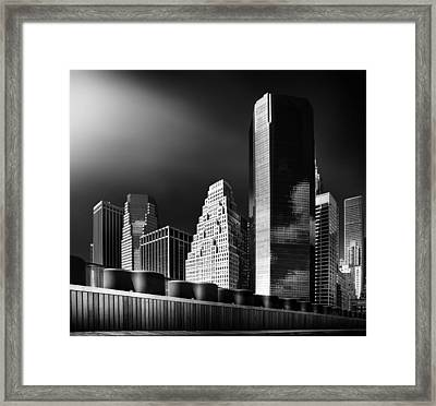 Skyline Framed Print