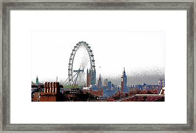 Skyline Framed Print
