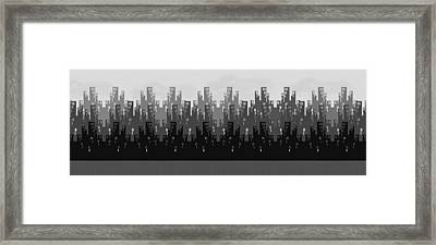 Skyline New York Framed Print