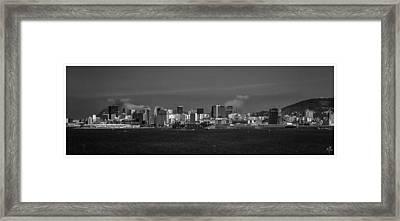 Skyline-porto-rio De Janeiro-rj Framed Print