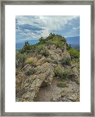 Skyline Ridge Framed Print