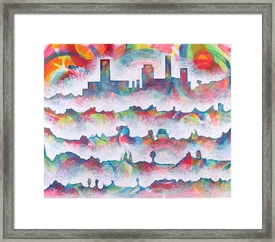 Skyline Framed Print by Rollin Kocsis