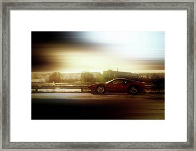 Skyline Speed Framed Print by Joel Witmeyer