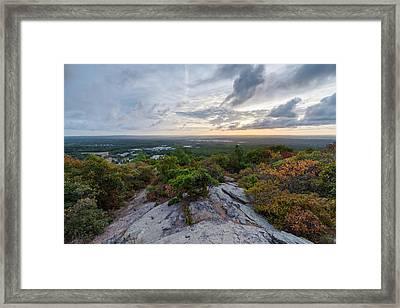 Skyline Trail Vista Framed Print