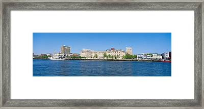 Skyline, Wilmington, South Carolina Framed Print by Panoramic Images