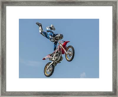 Skyrider Framed Print