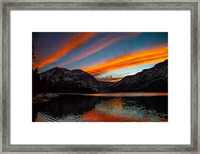 Skys Of Color Framed Print by Brian Williamson