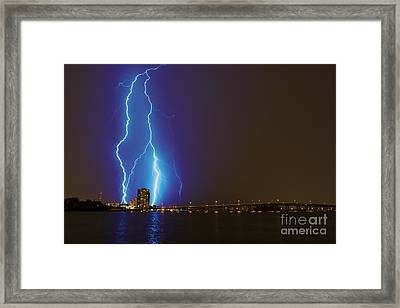 Sky's The Limit Framed Print