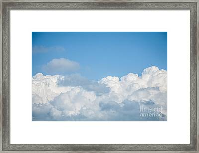 Framed Print featuring the photograph Skyscape by Jan Bickerton