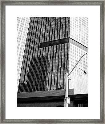 Skyscaper Framed Print