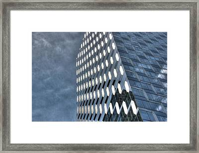 Skyscraper Abstract 15 Framed Print