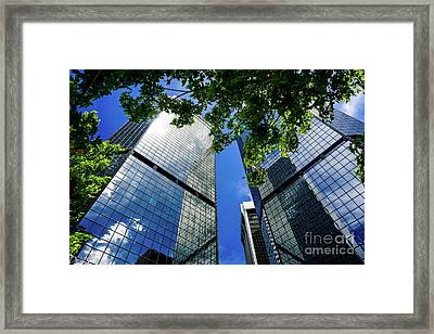 Skyscraper Spring Framed Print