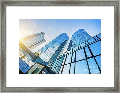 Skyscrapers Framed Print by JR Photography