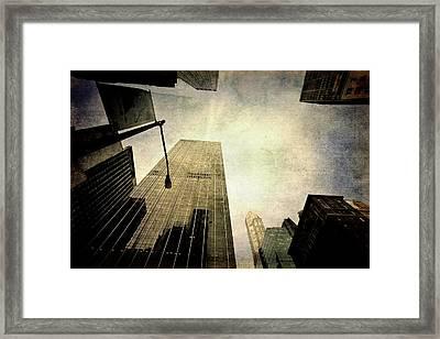 Skyscrapers Framed Print