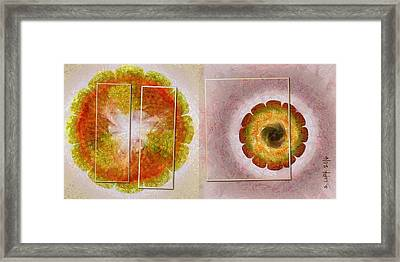 Skysweeper Nude Flowers  Id 16165-003749-56021 Framed Print by S Lurk