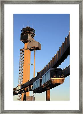 Skytrain Framed Print