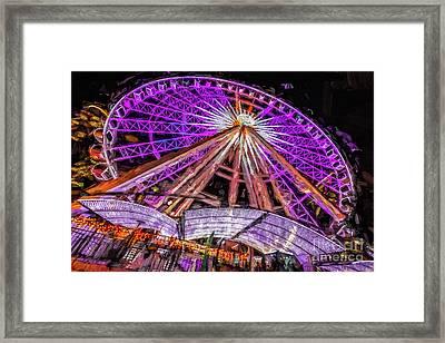 Skyview Atlanta Framed Print