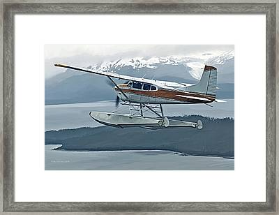 Skywagon Framed Print
