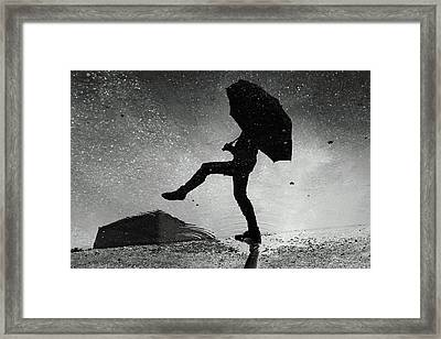 Skywalker Framed Print by Ajven
