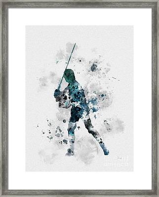 Skywalker Framed Print by Rebecca Jenkins