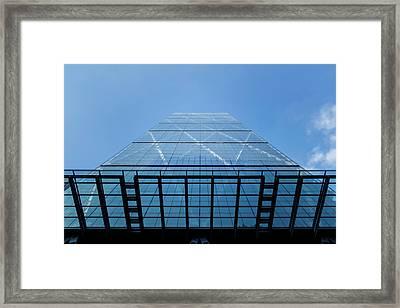 Skyward Framed Print by Rick Deacon