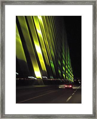 Skyway At Night 5559 Framed Print