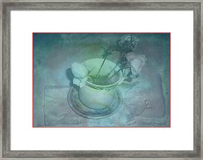 Skyworks 1 Rose Framed Print by Friedl Aigner