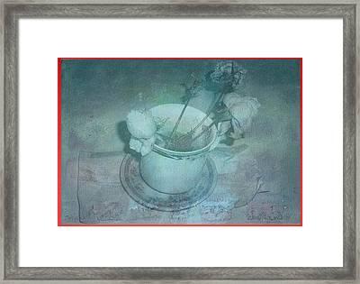 Skyworks 6 Rose Framed Print by Friedl Aigner