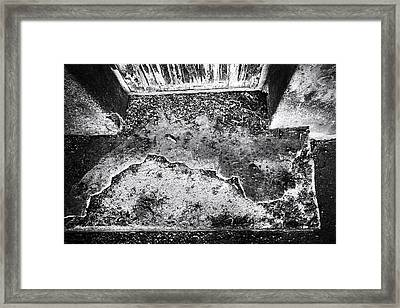 Slab Framed Print by Matti Ollikainen