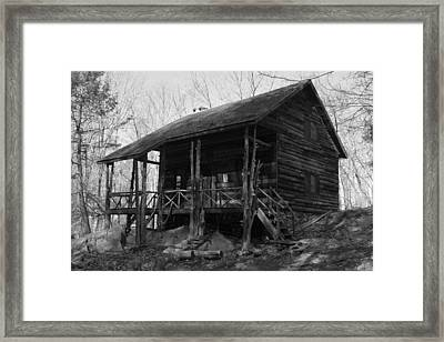 Framed Print featuring the photograph Slabsides In Spring by Jeff Severson
