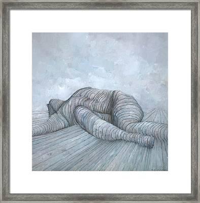 Slain Framed Print